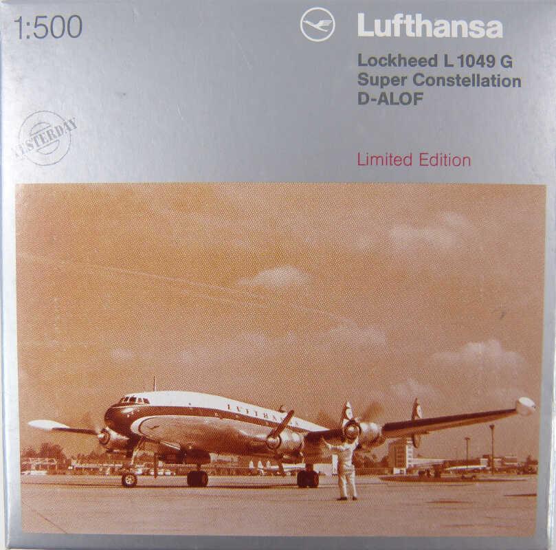 Herpa Wings 1:500 Lockheed l-1049g Super Constellation lufthansa D-Alof 514927