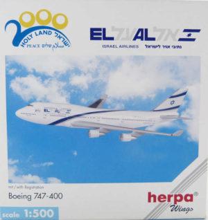 Boeing 747SP Air Namibia VS-SPF Herpa 502573 1:500 in OVP